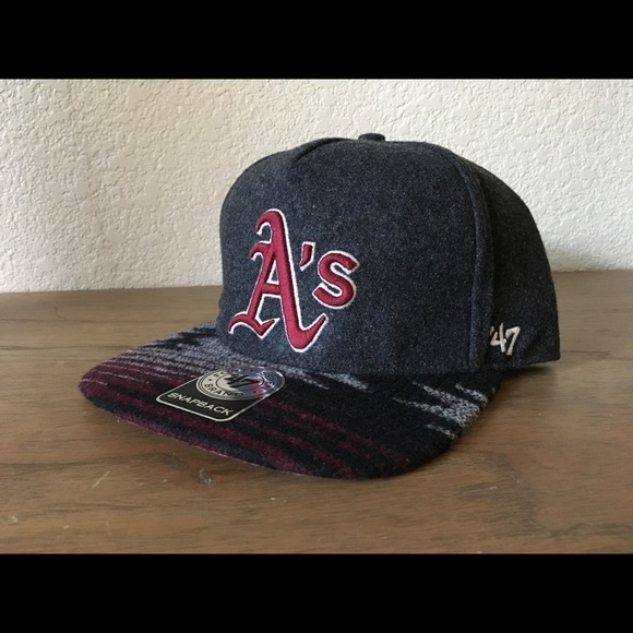 8d12832c8aff3 NWT  47 Forty Seven Brand Oakland A s Snapback Hat